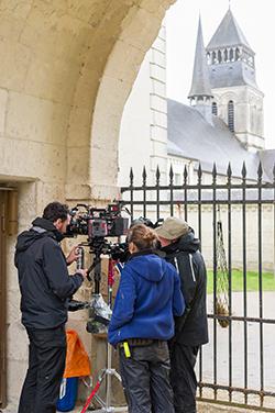 Tournage long-métrage Eugénie Grandet à l'Abbaye de Fontevraud